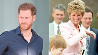 Prince Harry reveals Princess Diana made his royal family departure posiible