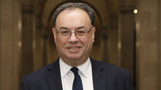 Governor of the Bank of England Andrew Bailey