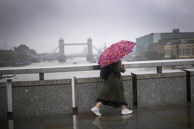Brits will need to dig out their umbrellas as wet and windy weather hits this week.