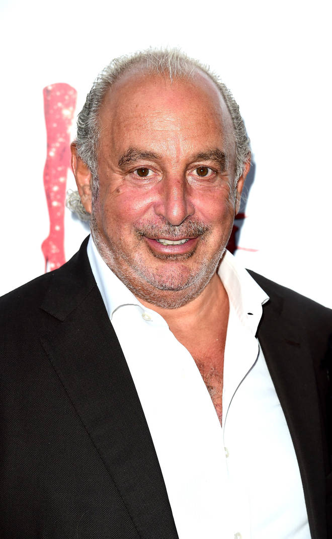 Sir Philip Green denies the allegations
