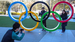 Reports in Japan say the Tokyo Olympics will be staged without overseas spectators