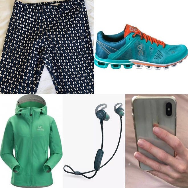 Police issued images of the clothing and items worn by Sarah Everard on the night she went missing.