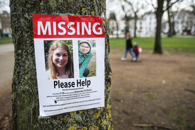 Sarah Everard was last seen over a week ago, when she left a flat in Clapham to walk home to Brixton.