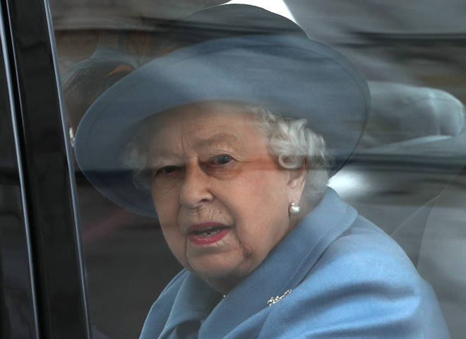 """The Queen says the Royal Family will address the racism claims made by Harry and Meghan """"privately""""."""