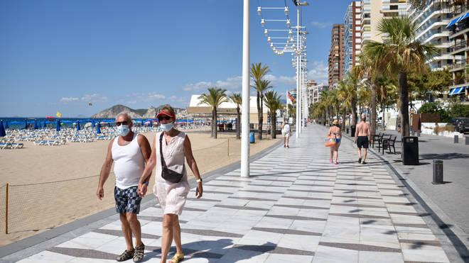 Brits could be back in Benidorm within a couple of months if Spain gives vaccine passports the green light