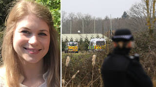 A police officer has been arrested on suspicion of the murder of missing Sarah Everard