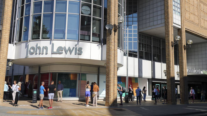 John Lewis has recorded its first ever annual loss