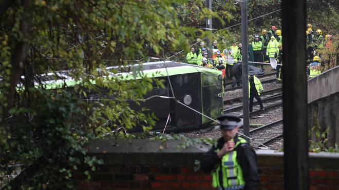 The Croydon Tram crash two years ago