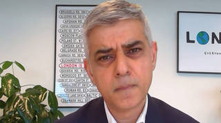 """Sadiq Khan has told LBC London's streets are not safe """"for women and girls"""""""