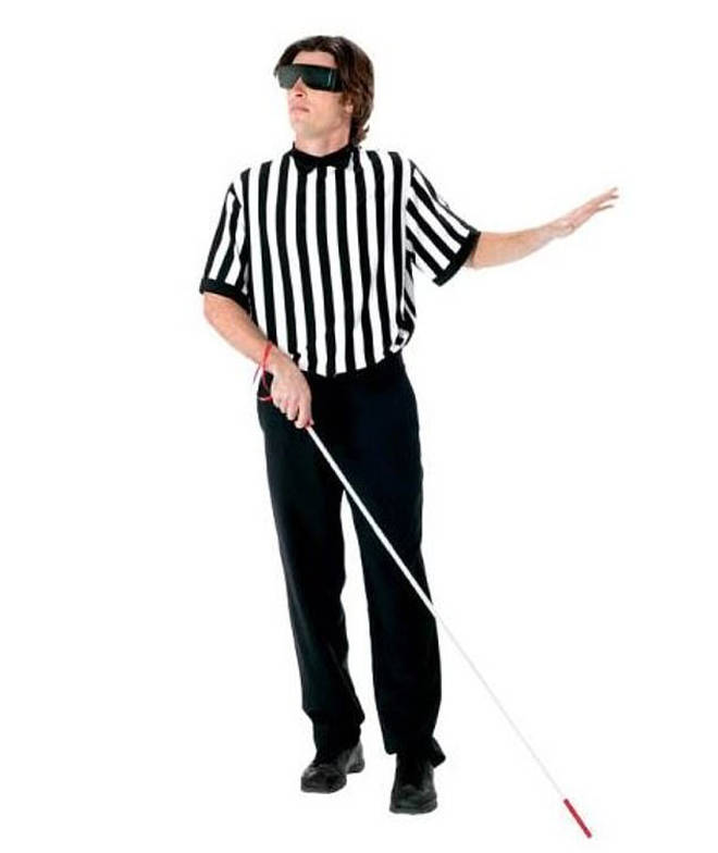Amazon's Blind Referee Halloween costume