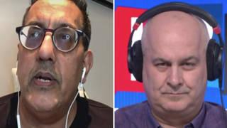 Nazir Afzal spoke to Iain Dale on LBC
