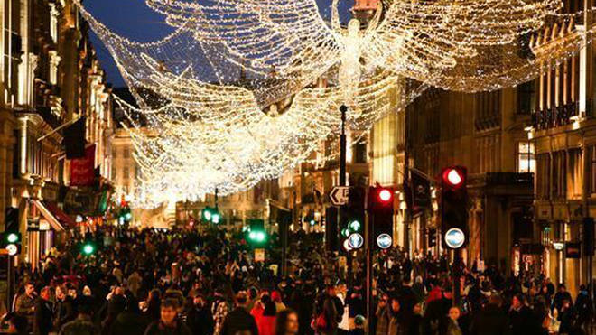 The economy grew slightly in December after a burst of Christmas shopping but shrank in January after lockdown measures were imposed