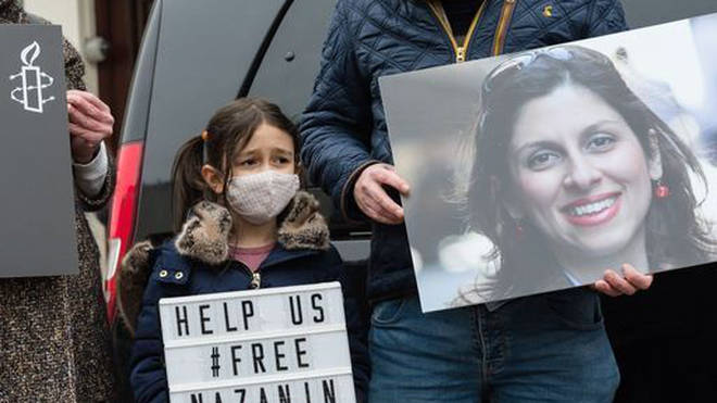 Nazanin Zaghari-Ratcliffe's family has been campaigning for her release