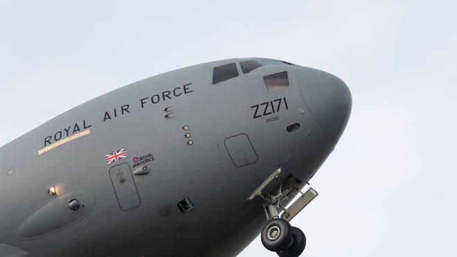 The RAF has launched a probe after allegations of sexual assault emerged from the video
