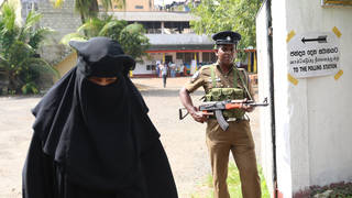 Sri Lanka has announced a plan to ban the wearing of the burqa