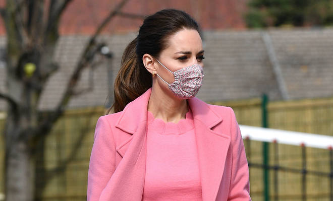 The Duchess of Cambridge paid her respects to Sarah Everard on Saturday