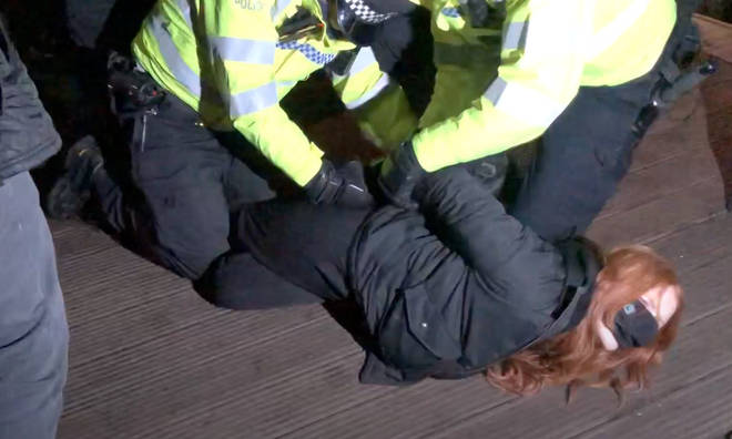 The arrest of several women at the event has sparked widespread anger