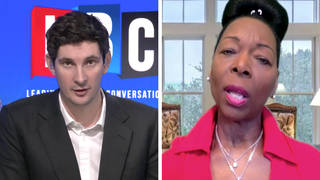 Baroness Floella Benjamin told LBC's Swarbrick on Sunday she is calling for age verification rules on porn sites to be implemented.
