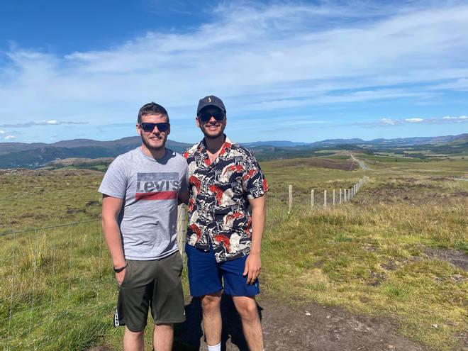 Edinburgh students Jack and Ben setup a petition after being told all in-person graduations would be cancelled for 2021.