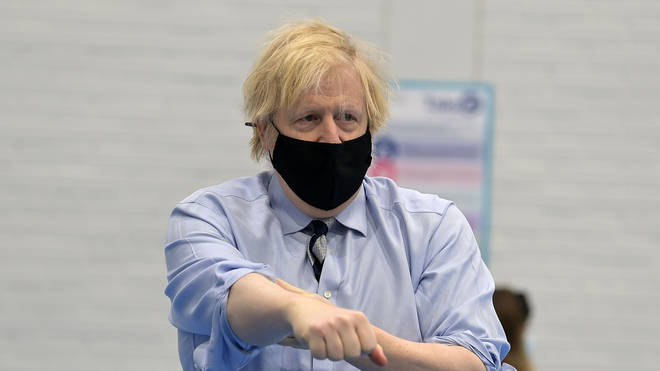 """Boris Johnson said the UK will """"beat Covid"""" in the coming months"""