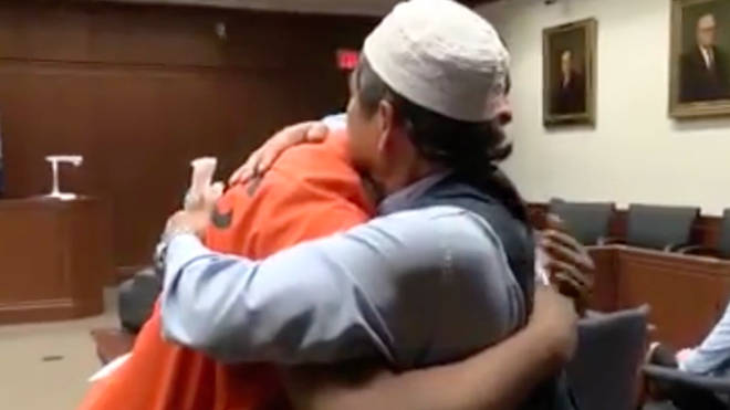 Father forgives the man convicted over his son's killing