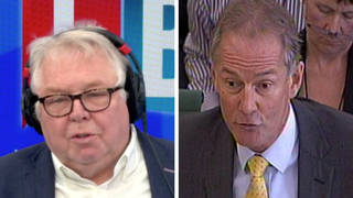 The former senior Met Officer was speaking to Nick Ferrari