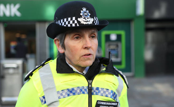 Met Police Cressida Dick has faced calls to resign