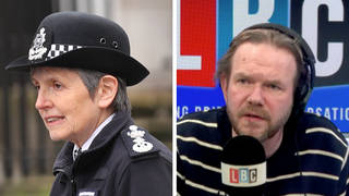 The caller was speaking about the Commissioner of the Met Police