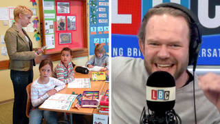 James O'Brien praises this 'brilliant' teacher for educating boys on respecting girls