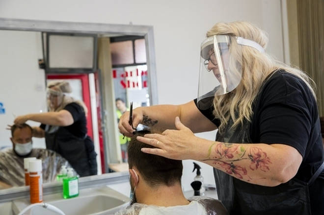 Hairdressers will likely be able to reopen in Scotland before England