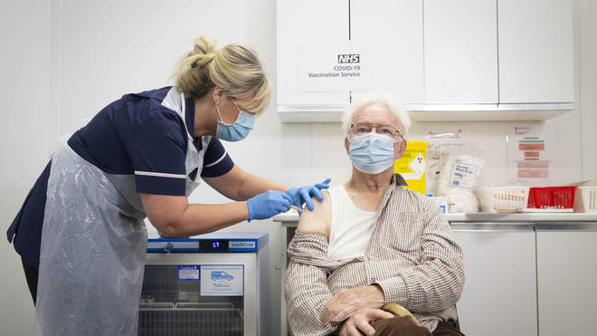The over-50s is the last of the nine priority groups being vaccinated