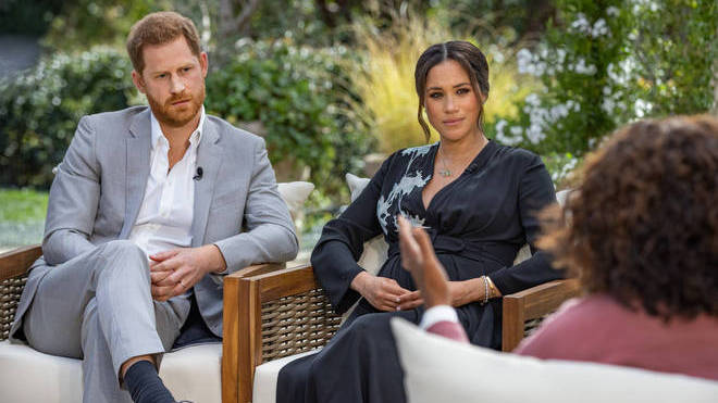 """Harry and Meghan's interview """"would not have run"""" if Prince Philip had died, a friend of Meghan has said"""