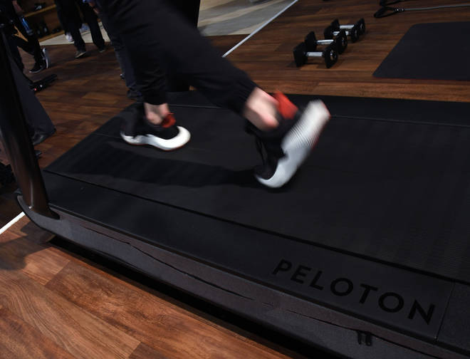 One child died following an accident involving a Peloton treadmill