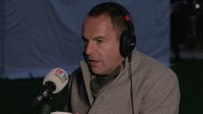 Martin Lewis spoke to LBC live from Westminster