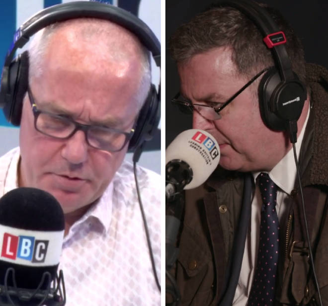 Mel Stride spokes to Eddie Mair live from Westminster