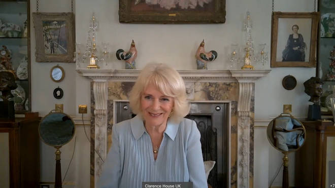 """The Duchess of Cornwall said: """"We couldn't have done without you."""""""