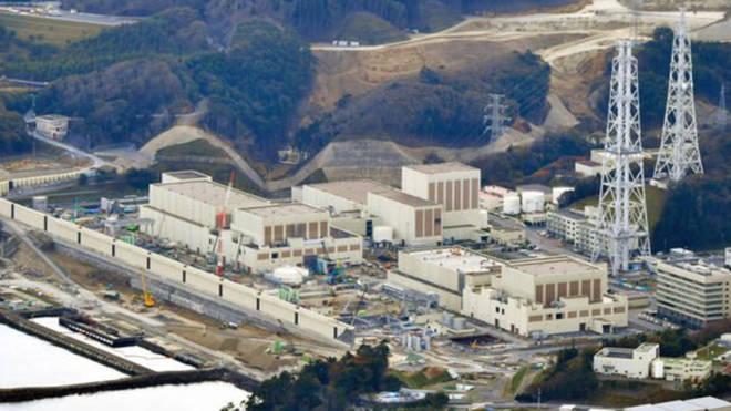 Image of the Onagawa nuclear plant.