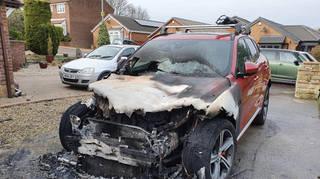 Sean Ivey's home was set ablaze twice in suspected arson attacks