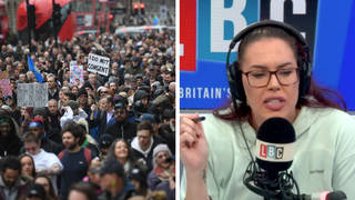 Caller stresses key difference between Clapham vigil and anti-lockdown protests
