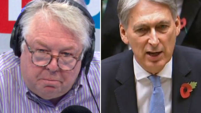 Nick Ferrari spoke to Chancellor Philip Hammond