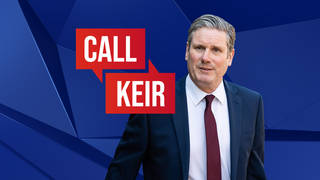 Call Keir: Labour leader Keir Starmer - watch live 9am