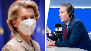Sir Keir Starmer: The EU shouldn't block vaccines entering UK