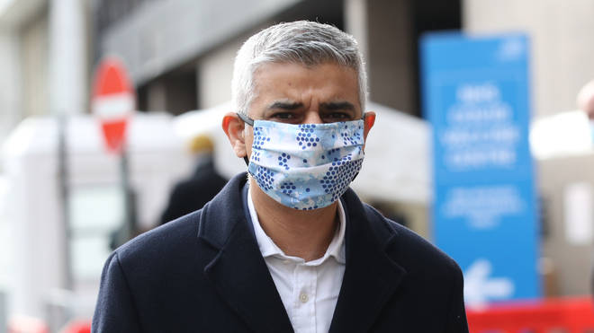 TfL has accepted a Government offer (Pictured is London mayor Sadiq Khan)