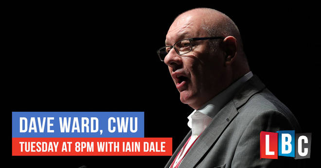 Dave Ward is on LBC this evening