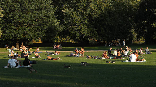 Two households or six people can gather in a public space again