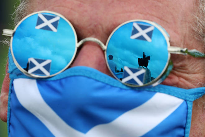 The legislation sets out the SNP's plans for a second independence referendum.