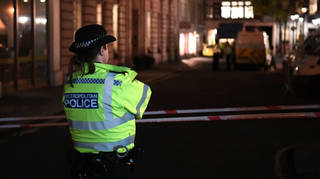A man has been arrested on suspicion of GBH after a pregnant woman was assaulted in north London