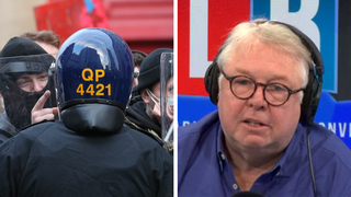 The former senior officer was speaking to LBC's Nick Ferrari