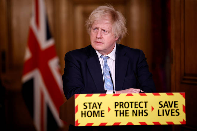 Boris Johnson Holds Coronavirus Press Conference At Downing Street