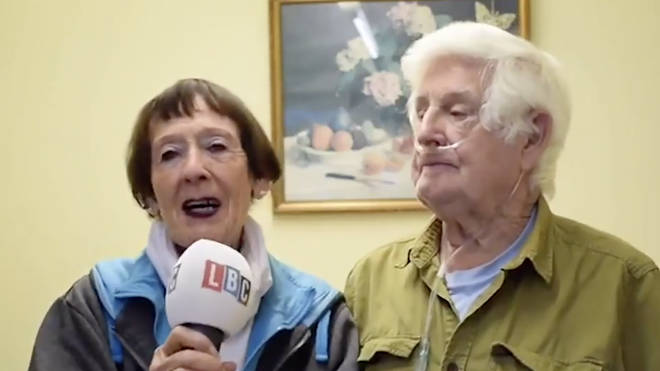 Arthur and his wife Gina spoke about his recovery from Covid